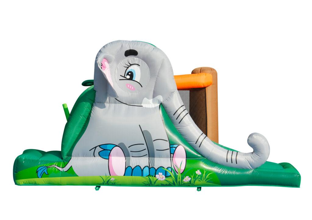 l'elefante del mini gonfiabile