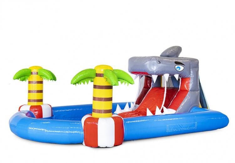 gonfiabile acquatico parco mini squalo