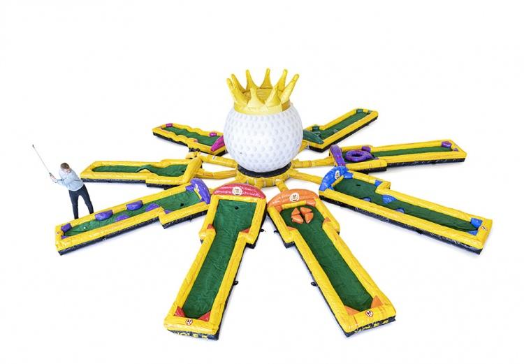 Gonfiabile sportivo pista da golf