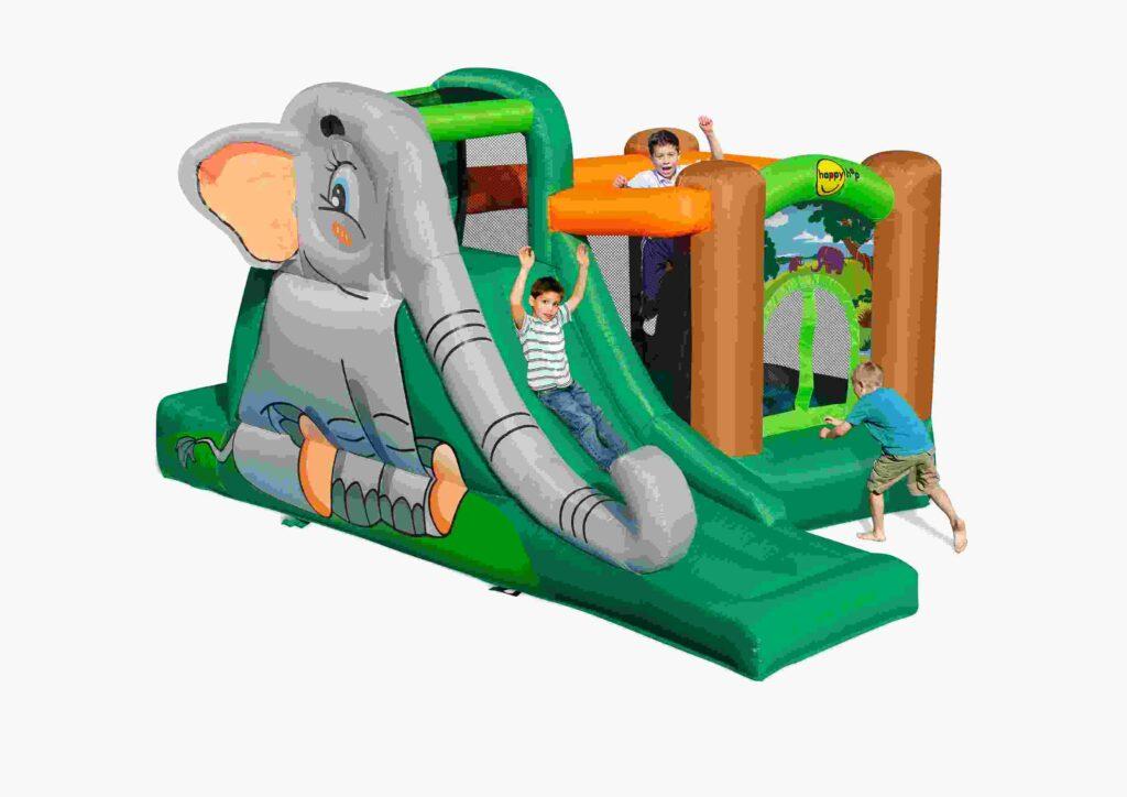 mini gonfiabile elefantopoli