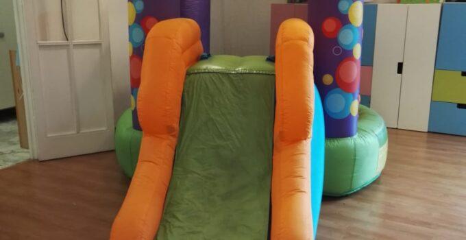 noleggio del mini gonfiabile balloon